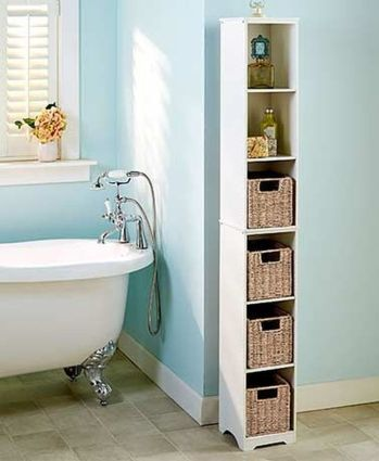 70 Brilliant Ideas for Small Bathroom Hacks and Organization 15