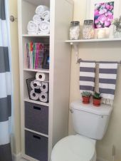 70 Brilliant Ideas for Small Bathroom Hacks and Organization 59