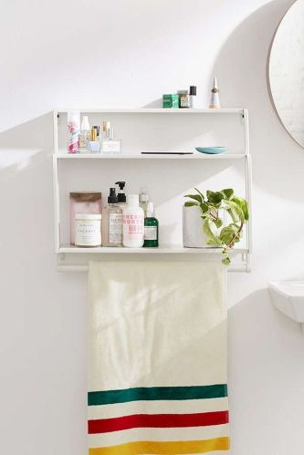 70 Brilliant Ideas for Small Bathroom Hacks and Organization 69
