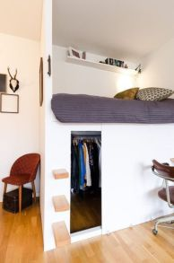 Awesome Cool Loft Bed Design Ideas and Inspirations 15