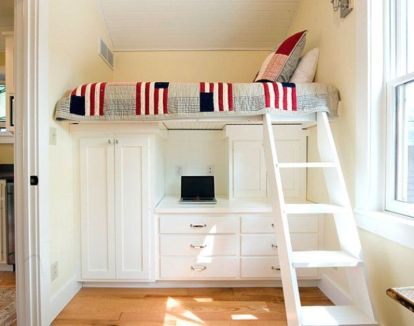 Awesome Cool Loft Bed Design Ideas and Inspirations 17