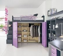 Awesome Cool Loft Bed Design Ideas and Inspirations 24