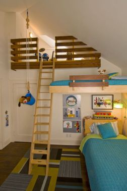 Awesome Cool Loft Bed Design Ideas and Inspirations 25