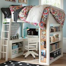 Awesome Cool Loft Bed Design Ideas and Inspirations 4