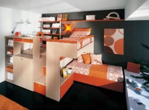 Awesome Cool Loft Bed Design Ideas and Inspirations 50