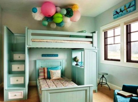 Awesome Cool Loft Bed Design Ideas