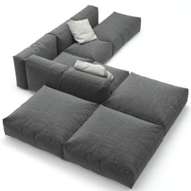 Cool Modular and Convertible Sofa Design for Small Living Room 4