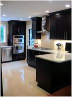 Elegant Kitchen Light Cabinets with Dark Countertops 17