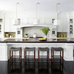 Elegant Kitchen Light Cabinets with Dark Countertops 31