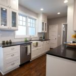 Elegant Kitchen Light Cabinets with Dark Countertops 72