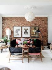 Fascinating Exposed Brick Wall for Living Room 34
