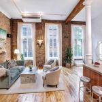 Fascinating Exposed Brick Wall for Living Room 42