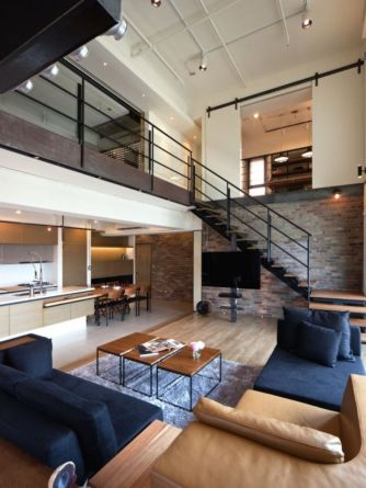 Fascinating Exposed Brick Wall for Living Room 55