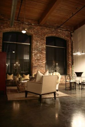 Fascinating Exposed Brick Wall for Living Room 56