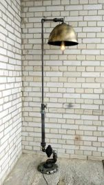 Fascinating Industrial Floor Lamp for Home Decorations 17
