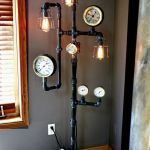 Fascinating Industrial Floor Lamp for Home Decorations 38