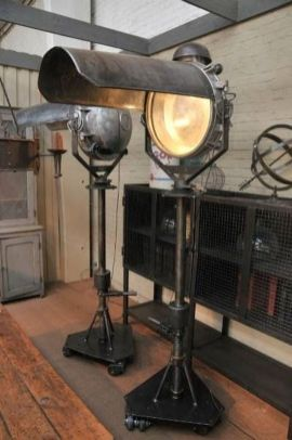 Fascinating Industrial Floor Lamp for Home Decorations 4