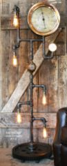 Fascinating Industrial Floor Lamp for Home Decorations 45