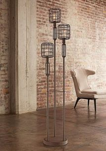 Fascinating Industrial Floor Lamp for Home Decorations 48