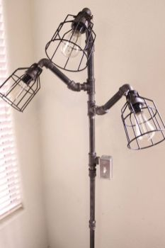 Fascinating Industrial Floor Lamp for Home Decorations 62