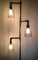 Fascinating Industrial Floor Lamp for Home Decorations 72