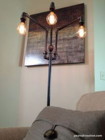 Fascinating Industrial Floor Lamp for Home Decorations 76