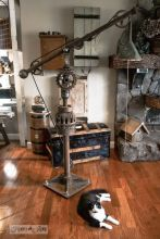 Fascinating Industrial Floor Lamp for Home Decorations 77