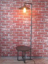 Fascinating Industrial Floor Lamp for Home Decorations 78
