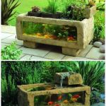 Mini Aquaponics with Fish for Home Decorations 7