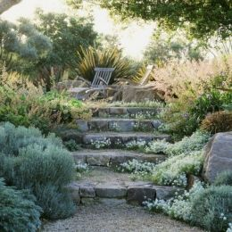 That is How to Make Garden Steps on a Slope 15