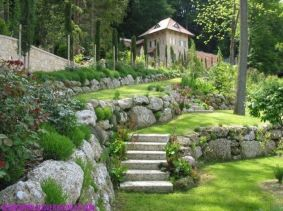 That is How to Make Garden Steps on a Slope 30