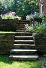 That is How to Make Garden Steps on a Slope 35
