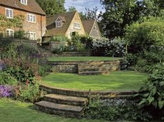 That is How to Make Garden Steps on a Slope 5