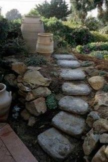 That is How to Make Garden Steps on a Slope 9