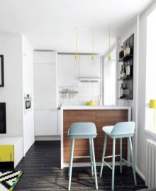 50 Ideas How to Make Small Kitchen for Apartment 20