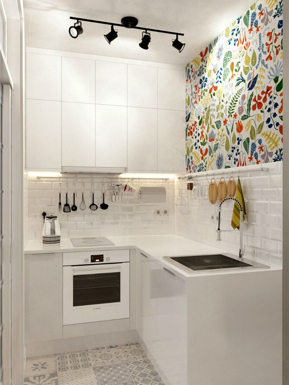 50 Ideas How to Make Small Kitchen for Apartment 1