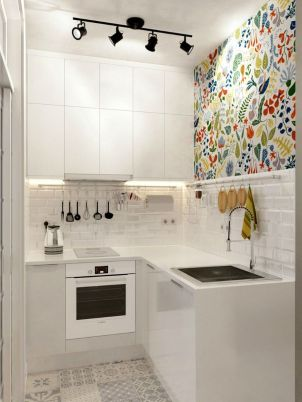 50 Ideas How to Make Small Kitchen for Apartment 28