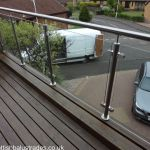 50 Incredible Glass Railing Design for Home Blacony 25