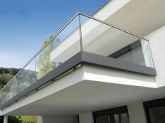 50 Incredible Glass Railing Design for Home Blacony 43