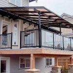50 Incredible Glass Railing Design for Home Blacony 51