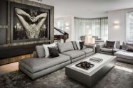 50 Magnificent Luxury Living Room Designs 17