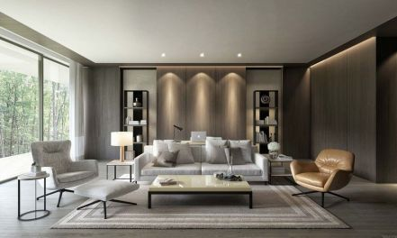 50 Magnificent Luxury Living Room Designs 3