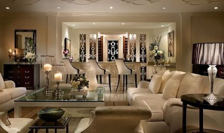 50 Magnificent Luxury Living Room Designs 31