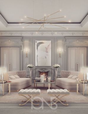 50 Magnificent Luxury Living Room Designs 33