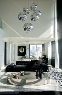 50 Magnificent Luxury Living Room Designs 49