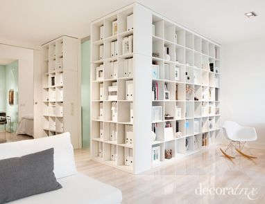 80 Incredible Room Dividers and Separators With Selves Ideas 44