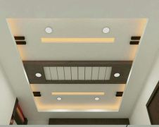 Modern and Contemporary Ceiling Design for Home Interior 6