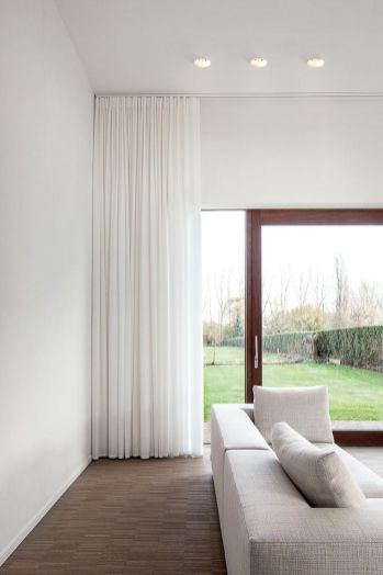 Beauty and Elegant White Curtain for Bedroom and Living Room 13