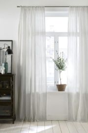 Beauty and Elegant White Curtain for Bedroom and Living Room 20