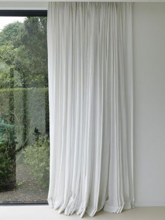 Beauty and Elegant White Curtain for Bedroom and Living Room 27